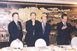Representatives of Stonecreek LLC and PSI meet in Shanghai to extend their strategic alliance for PRC client project collaboration.  Pictured left to right:  Don Bredberg, Clement So, Daniel So, Frank So.