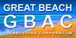 Great Beach Attractions Corporation, logomark