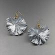 Aluminum Leaf Earrings