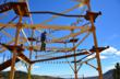 The Wind Walker Challenge Course has 15-foot, 40-foot and 600-foot elevations for participants to try, to customize the adventure based on individual thrill threshold.