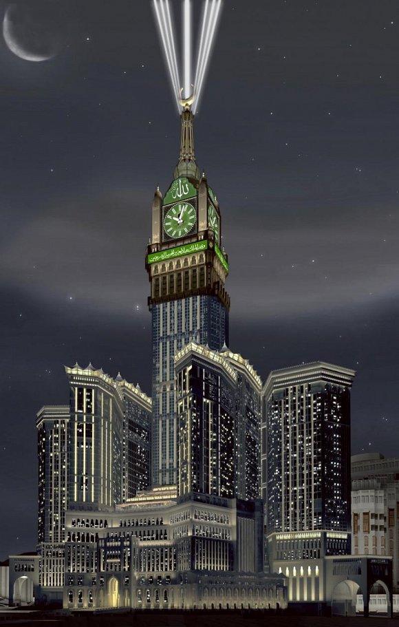 Makkah Royal Clock Tower Mecca