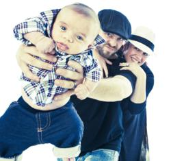 Riff, Lee and Scarlett Cherry. Copyright 2011 Lee Cherry Photography
