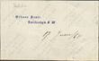 This is a signature circa 1900 Martin Johnson Heade papers, Archives of American Art, Smithsonian Institution