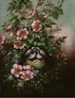 Martin Johnson Heade  circa 1900 Dusky Seaside Sparrow: Carolina Roses: Rush Plant: Salt Marsh Cord Grass Nest. Heade enshrined this bird in the beautiful masterpiece herein.