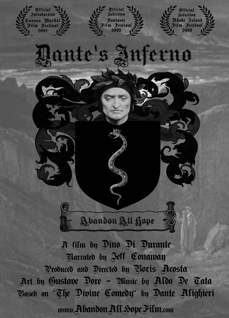 the loss of hope in dantes inferno John f kennedy's favorite quotations: dante's inferno african, n east, asian  those who are here can place no hope in death, and their blind life is so abject.