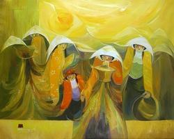 vietnamese art ho dinh nam kha