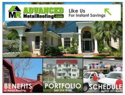Advanced Metal Roofing on Facebook