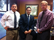 Pictured from left to right: James Ramirez, VP of Investor Relations; Richard Monroy, President & CEO and Theo Jahns, Senior VP