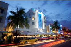 Exterior Photo of the Beacon South Beach Hotel on Ocean Drive