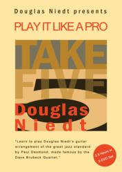 "Douglas Niedt's Instructional Guitar DVD, ""Take Five for Guitar: Play It Like a Pro"""