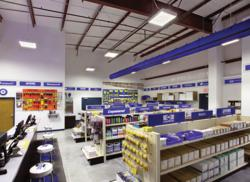 CFM Distributors retail showroom