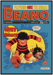 Personalised Beano & Dennis the Menace Gifts