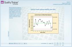 Quality Trainer by Minitab makes it easy to learn and apply statistics for quality improvement.