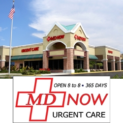 MD Now Urgent Care & Physical Therapy Center, Boynton Beach, Florida.