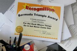 Funny Awards - Ideas for a Humorous and Inexpensive Office