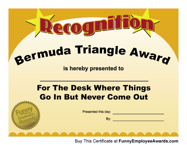 Funny Awards – Ideas for a New Twist on Classic Office Party Themes