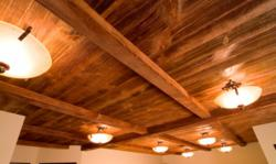 Revolutionary do it yourself faux wood products come to Faux wood ceiling planks