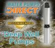 Top Deep Well Pumps @ Water Pumps Direct