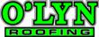 The O'LYN Roofing logo.