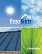 CertainTeed's  EnerGenTM Photovoltaic Solar Power Roofing System brochure cover.