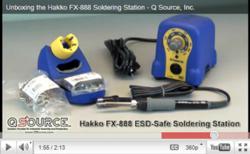 Unboxing the Hakko FX-888 Soldering Station Video
