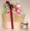 Grapefruit Mimosa Mother's Day gift basket