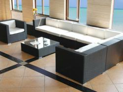 A lovely Harmonia Living outdoor sectional sofa available at OutdoorSofa.com