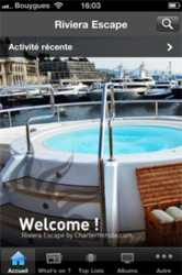 Riviera Escape, the 1st French Riviera Mobile Charter Guide