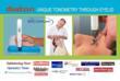 Tonometer Diaton - Tonometry through Eyelid, non-contact, non-corneal intraocular pressure test