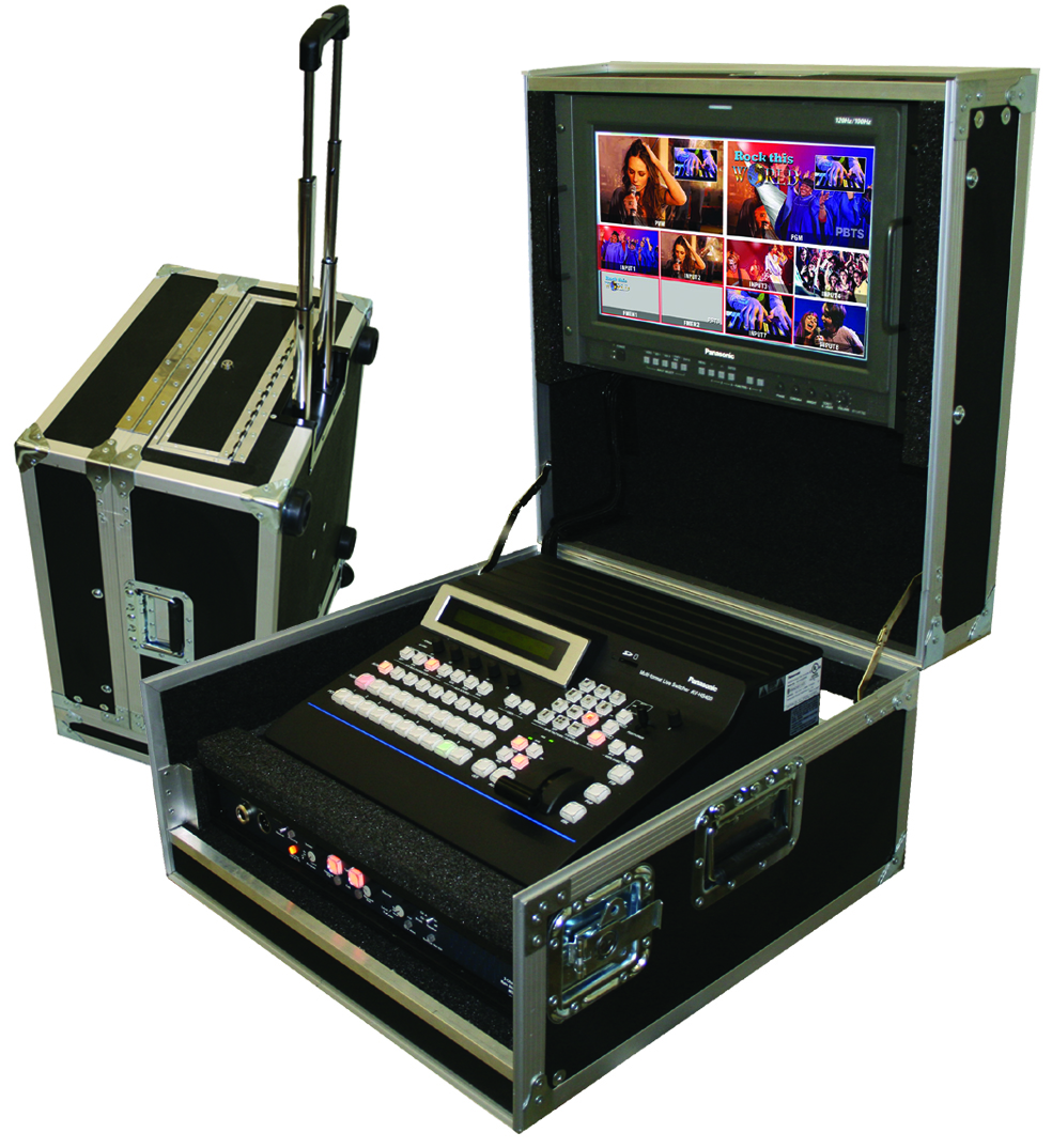 New portacast tm flypack system is ultimate mobile for Mobile studio
