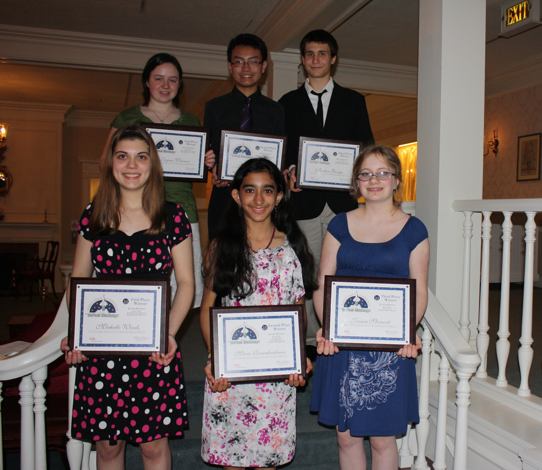 Indian American Youths Named 2014 DuPont Challenge Winners - India ...