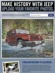 Jeep photo mosaic