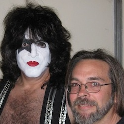Kiss frontman Paul Stanley with John David Balla