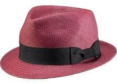 Pink Panama Hat
