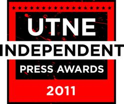 Utne Reader last night honored nine publications with Utne Independent Press Awards for excellence in alternative media coverage.