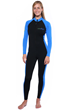 Women sun protection clothing stinger suit in fashionable color, flatlock stitching and front zipper.
