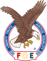 Fraternal Order of Eagles Aerie Logo, FOE