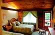 A cozy room at the Summit Lodge
