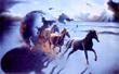 "WARREN'S WORLD FAMOUS HORSES ""RUNNING WILD"""