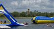 Kids Enjoying Fun on the lake at Summer Camp