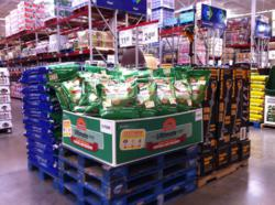 Pennington Grass Seed Sams Club stores utilizing mobius image recognition technology
