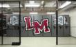 The new storage system adds both function and design to Lower Merion's equipment room.