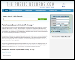 Public Records Search