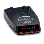 STi Driver Invisible Radar Detector