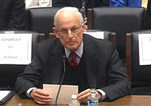 Lewis E. Lehrman before Chairman Ron Paul's House subcommittee