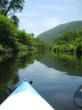 Kayaking after a hike in Killington Vermont