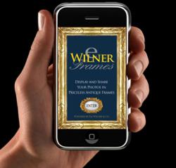 The new Eli Wilner iphone and ipad framing app