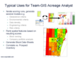 Typical Uses for Team-GIS Acreage Analyst