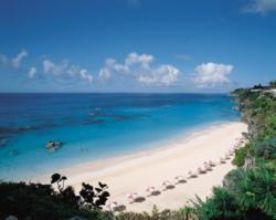 Beach at The Reefs, Bermuda