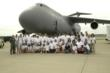 Air Camp students at Wright-Patterson Air Force Base